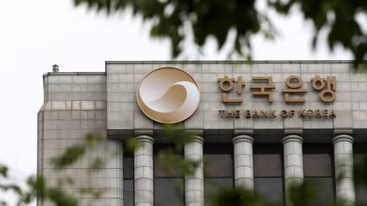Bank Of Korea Cuts Rates In June To Record Low Sooner Than Expected